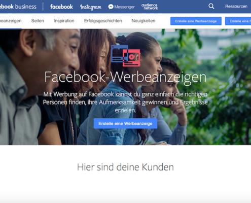 Anleitung: Facebook Werbeanzeigen erstellen