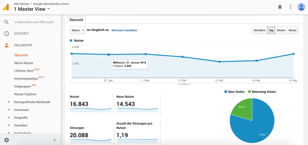 Google Analytics Integration in WordPress: Eine Anleitung