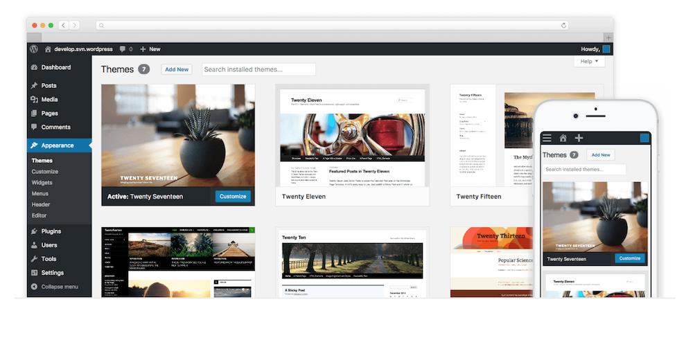 WordPress Webseiten für Unternehmen