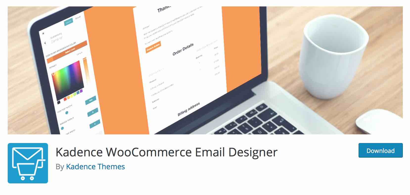Kadence Email Designer für WooCommerce