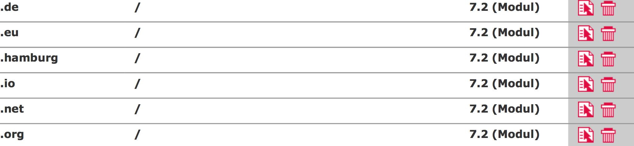Aktuelle PHP Version wählen