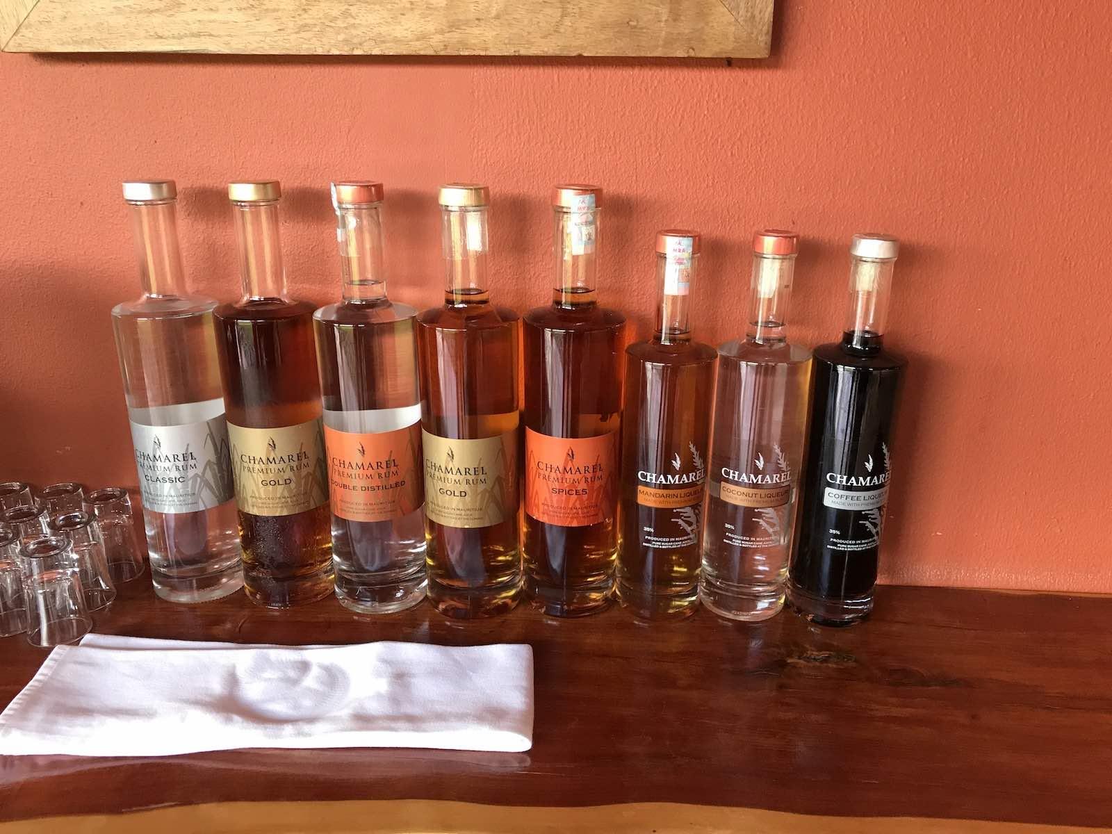 Die fruchtigen Chamarel Rum Liköre