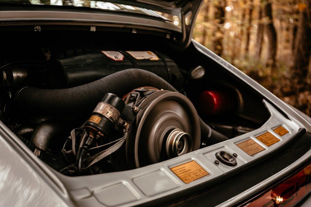 Der Motor des 1978 911SC