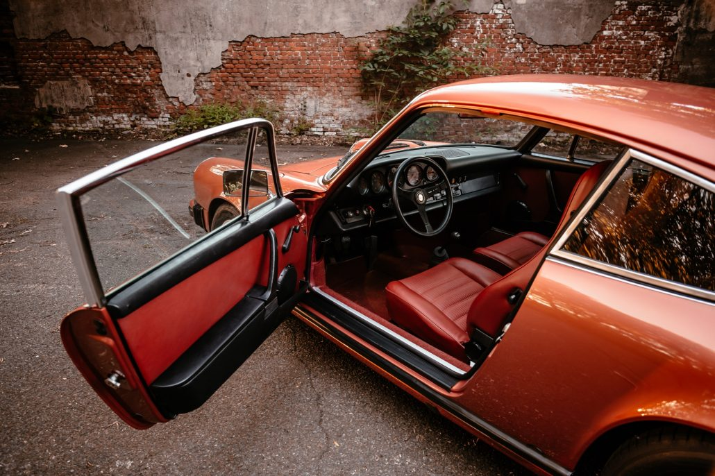 Porsche 1974 911S Seitenansicht