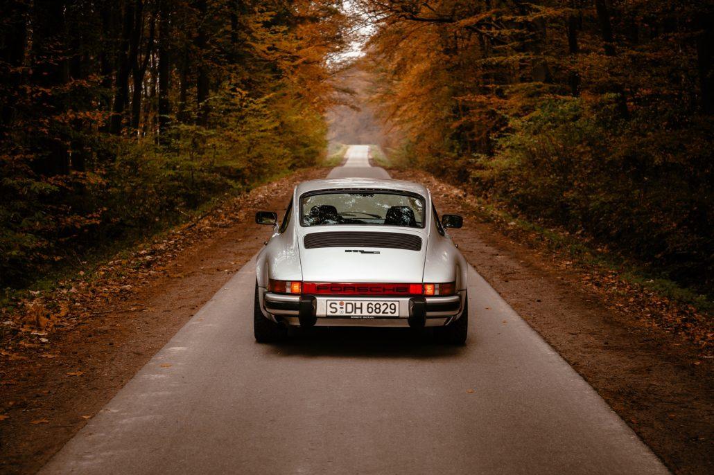 Das 911 SC Coupe in Rückansicht