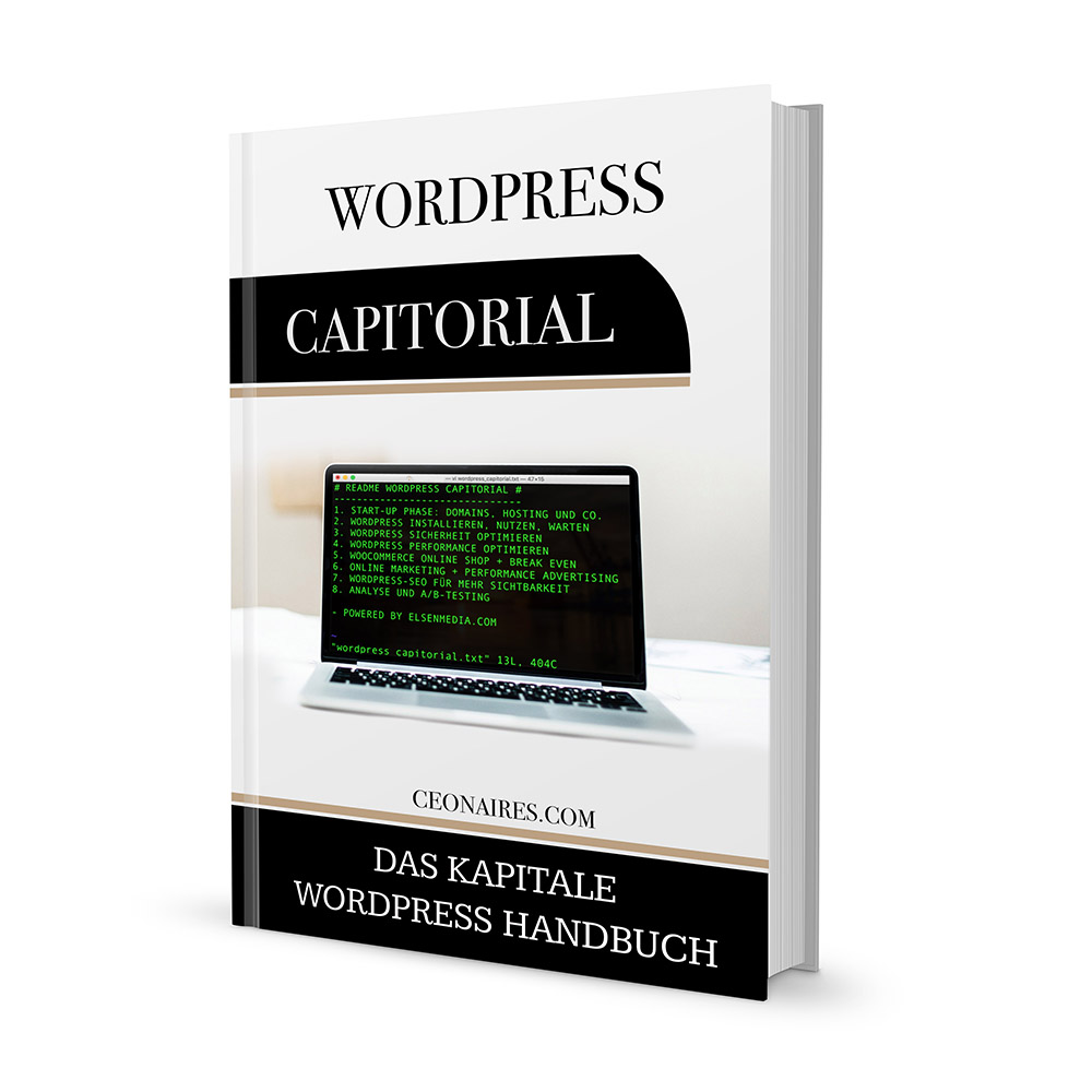 WordPress Capitorial Guideline