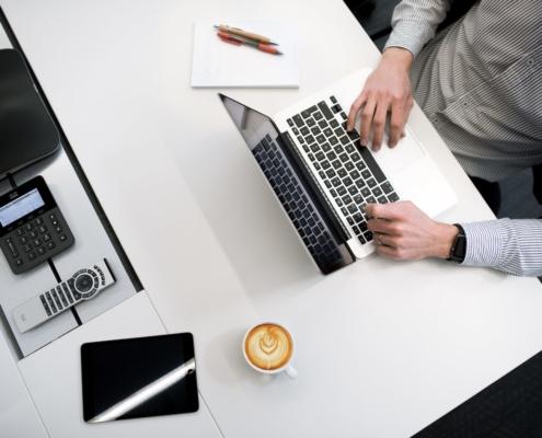 Berater Homepage mit WordPress erstellen