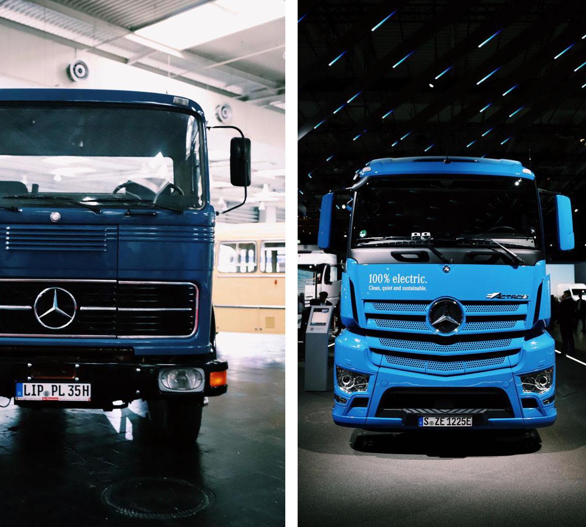 E-Actros von Mercedes auf der IAA Nutzfahrzeuge 2018