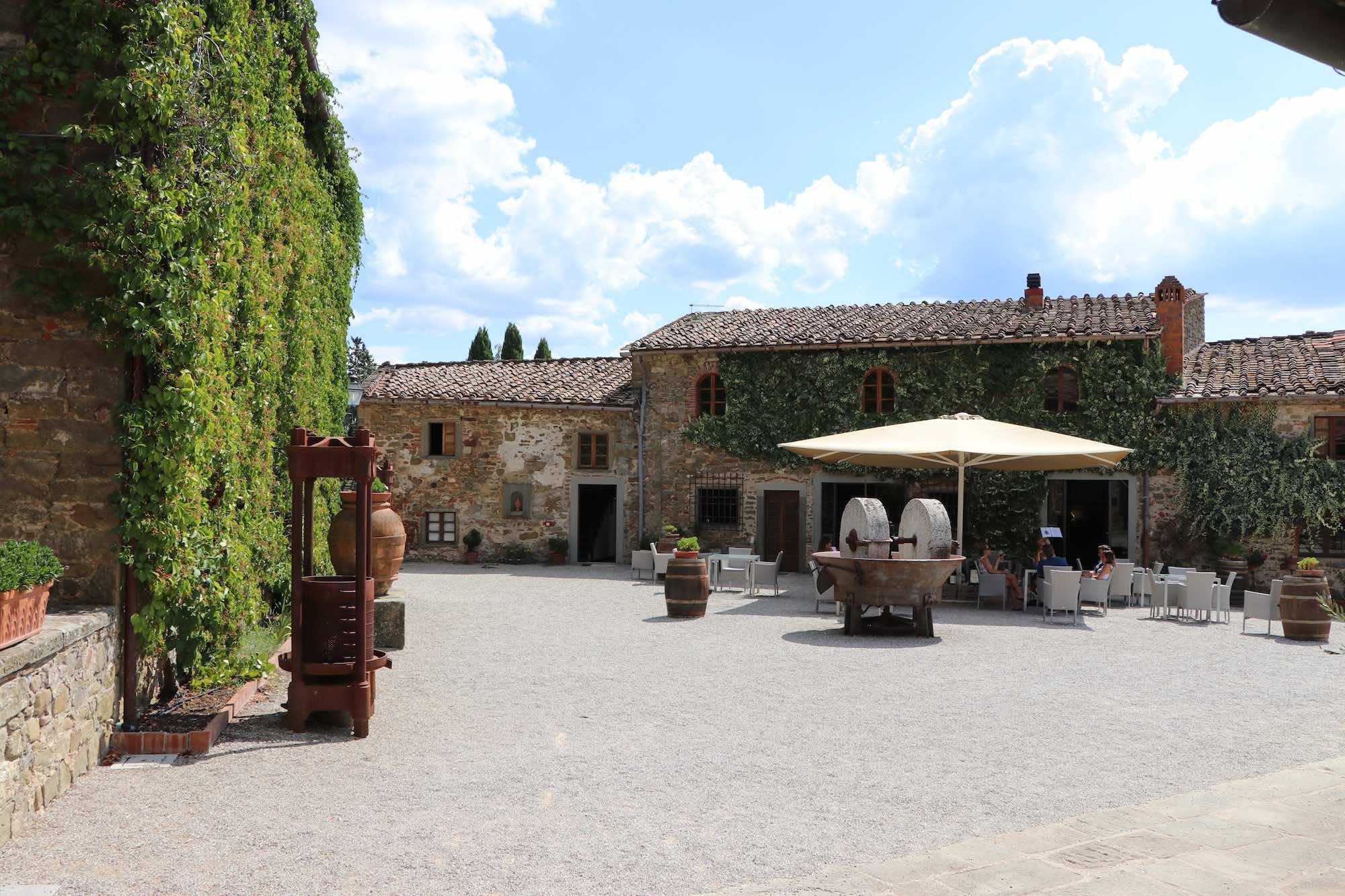 Hotel im Weingut Castelvecchi