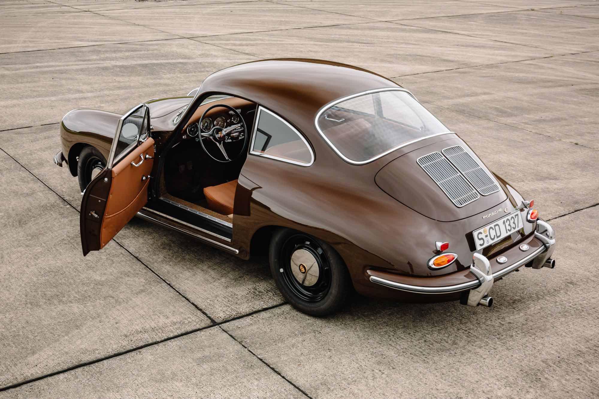 Porsche 356 C Seitenansicht