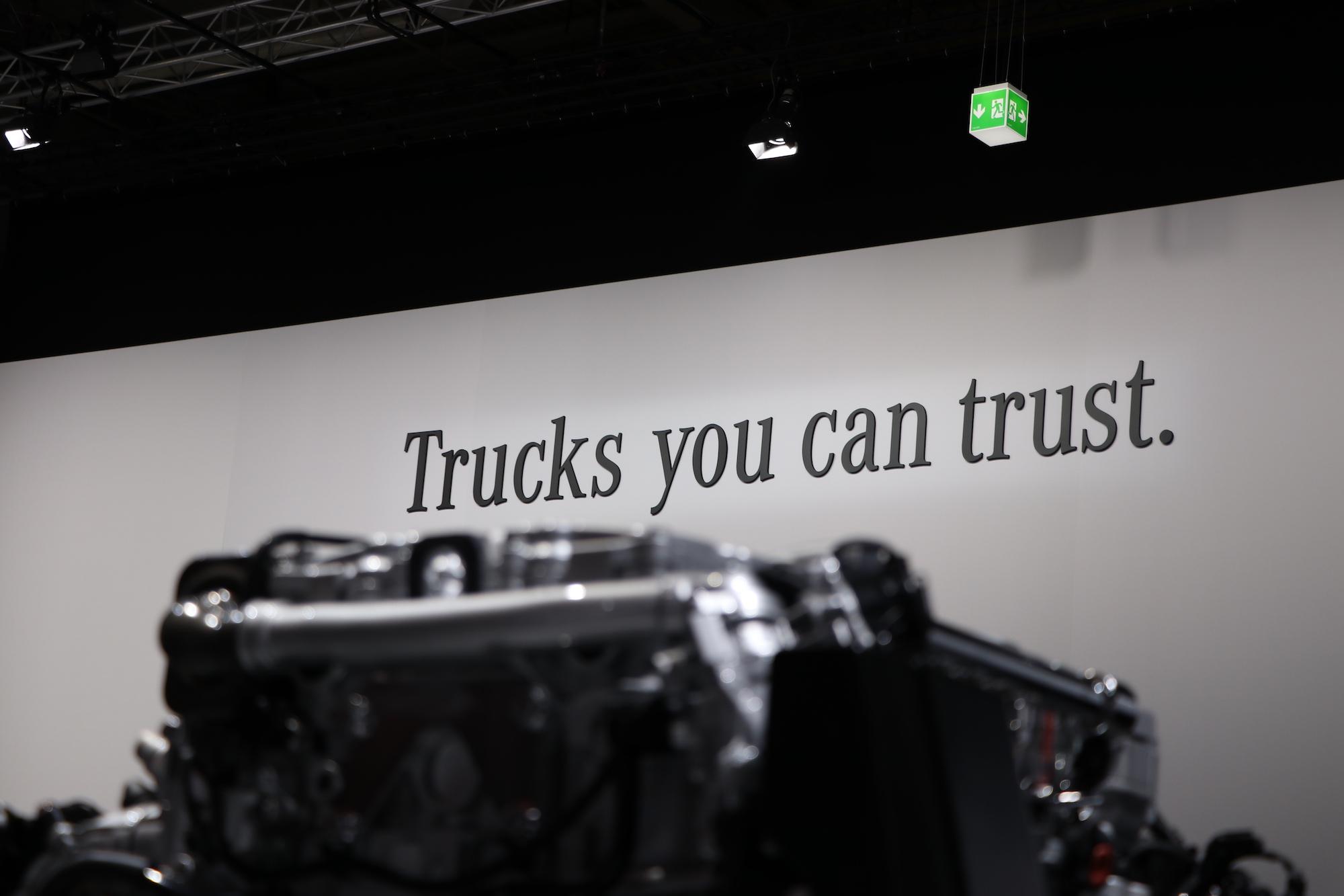 Truck you can Trust auf der IAA Nutzfahrzeuge