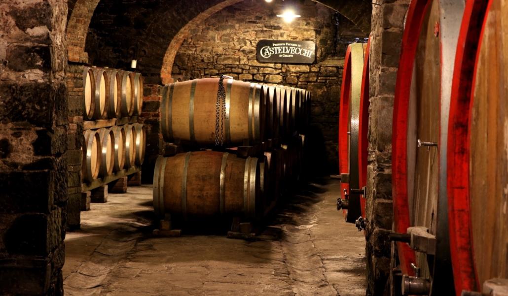 Das Weingut Castelvecchi in der Toaskana