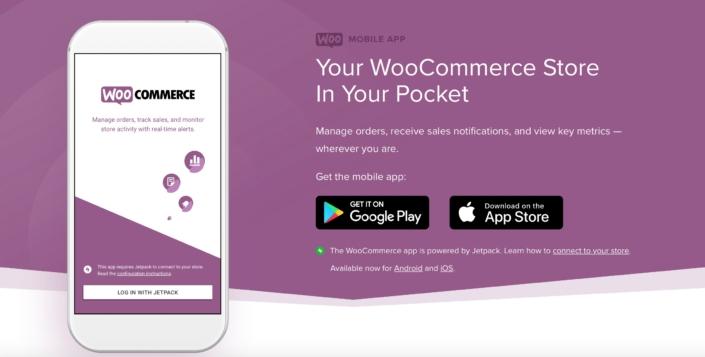 WooCommerce App für iPhone und Android