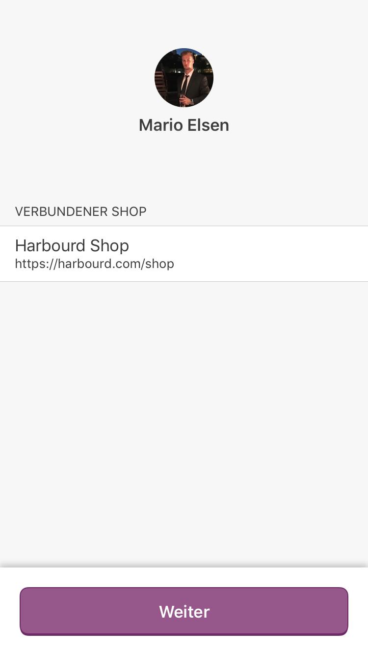 WooCommerce Auswahl der verbundenen Shopsysteme