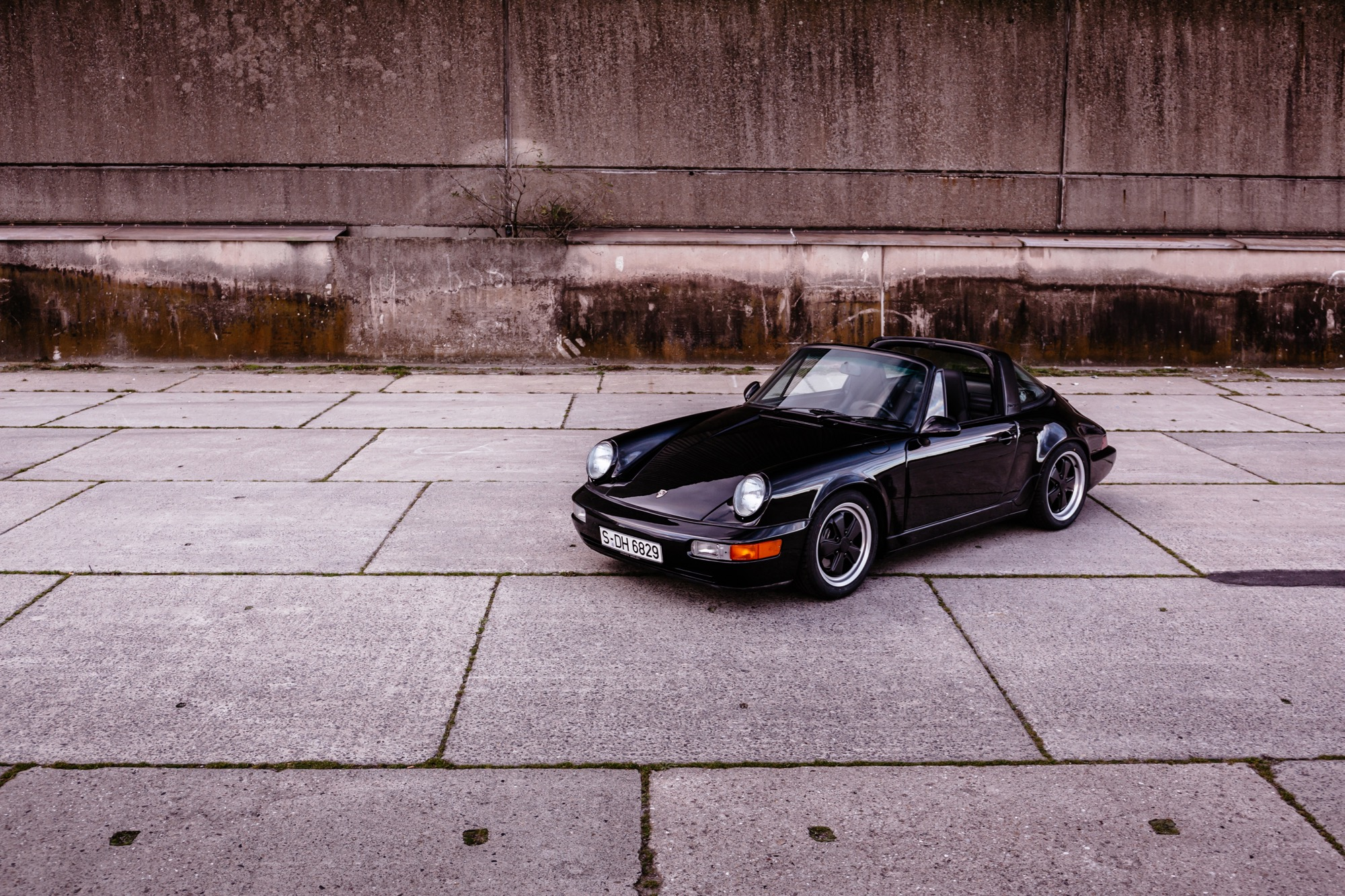 Porsche 964 Targa Frontansicht