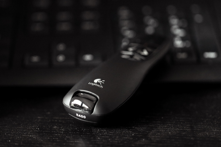 Wireless Presenter hacken