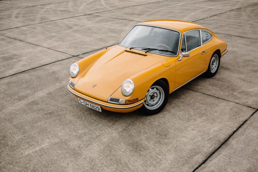 Porsche 912 Frontansicht