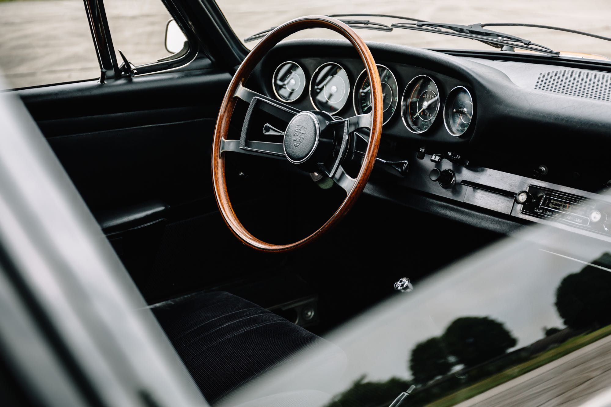 Interieur des Porsche 912