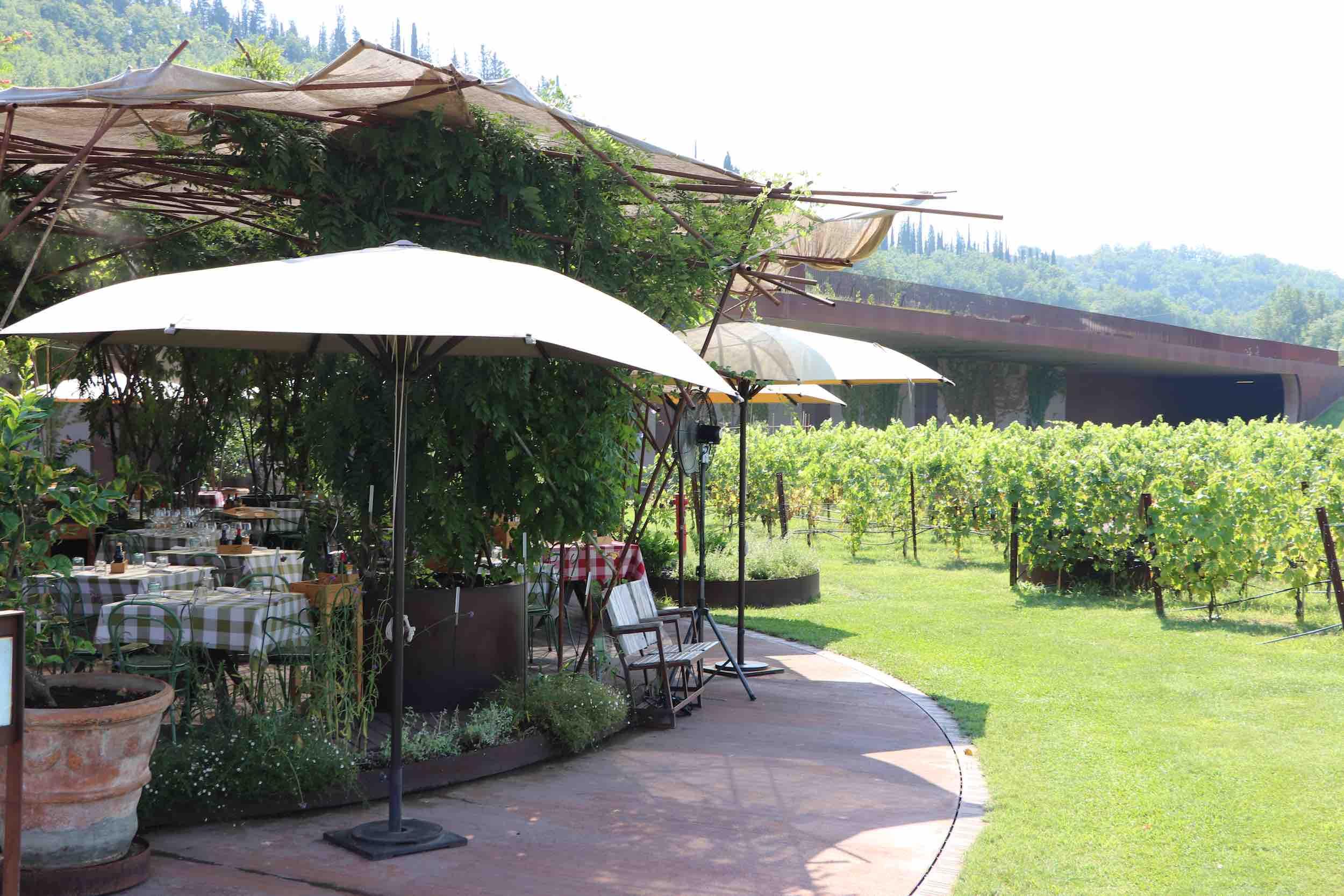 Restaurant und Weinbar im Weingut Antinori