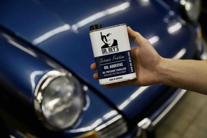 Marktstart von DR. REY'S Classic Car Additives