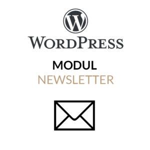 WordPress Newsletter Modul für die Integration eines Newsletter-Services in WordPress