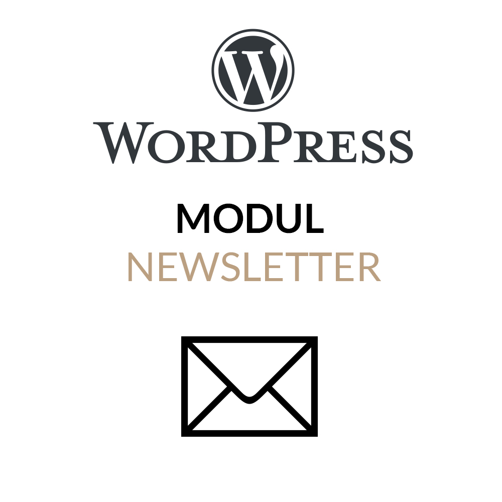 WordPress Newsletter Modul für die Integration eines Newsletter-Services in WordPress