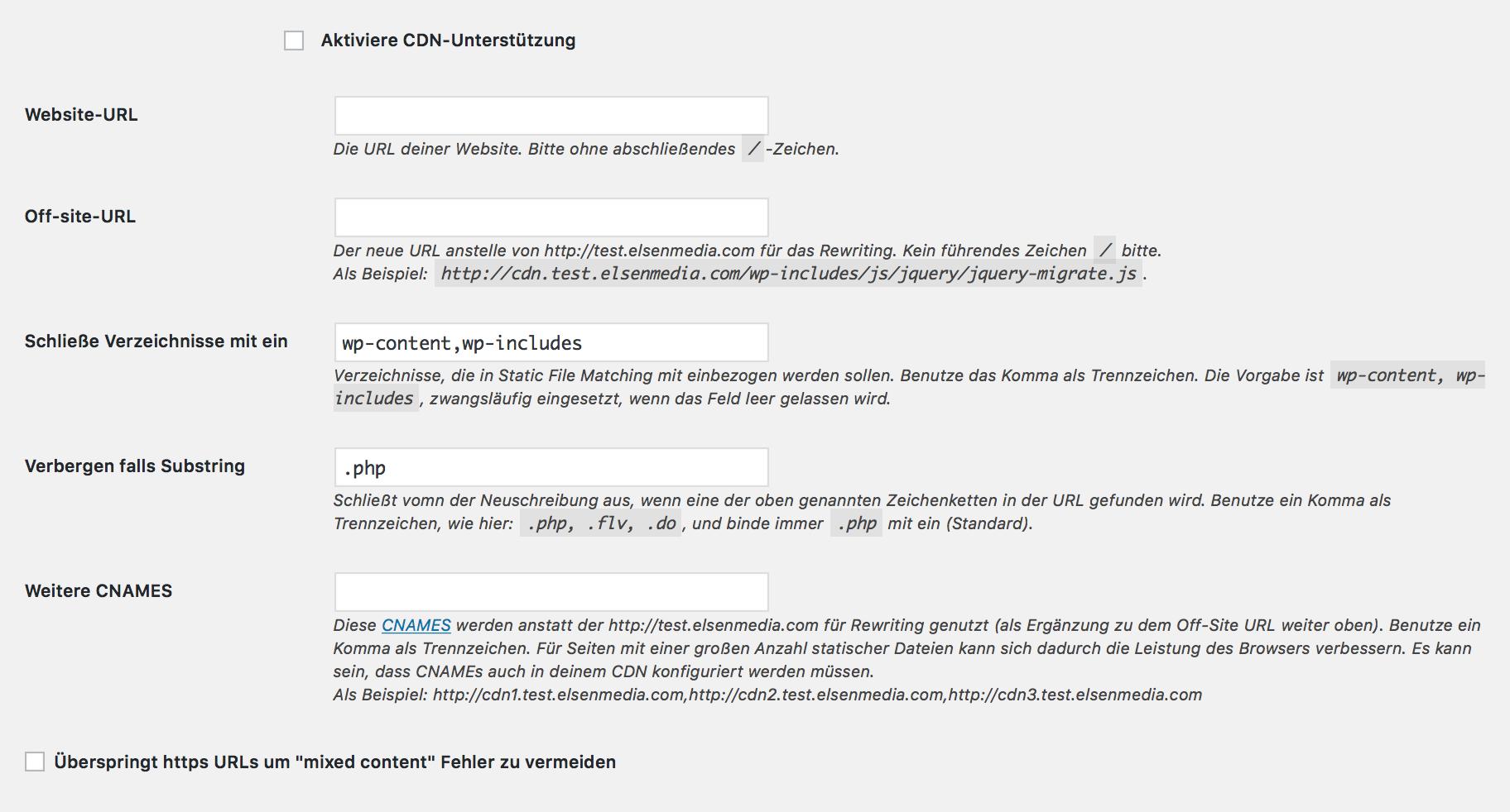 Content Delivery Network (CDN) Unterstützung für WordPress in WP Super Cache