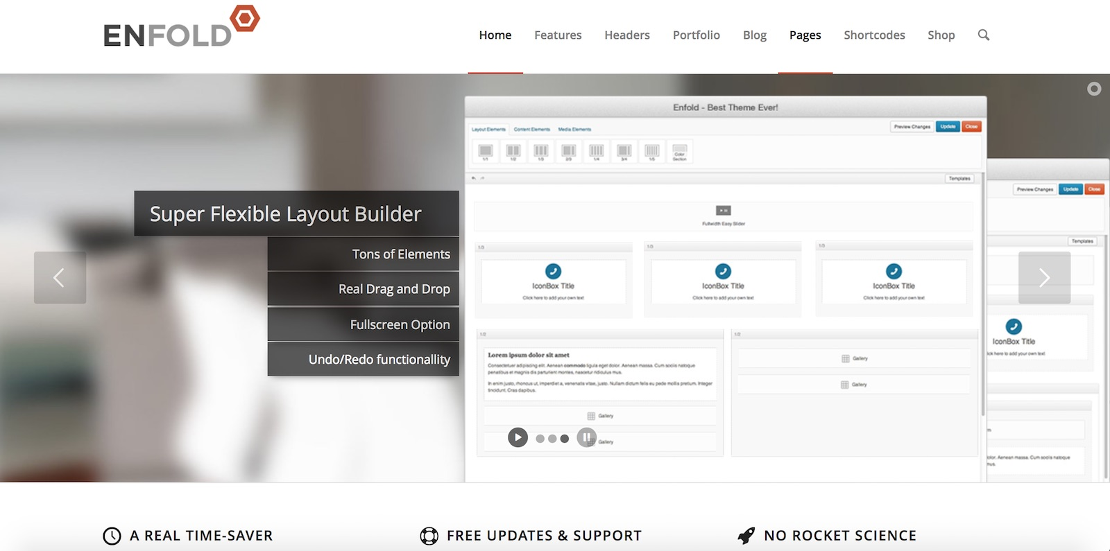 WordPress Theme Enfold